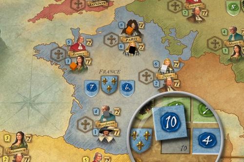 Royals map