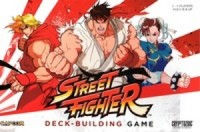 CapCom Street Fighter Deck-Building Game - Board Game Box Shot