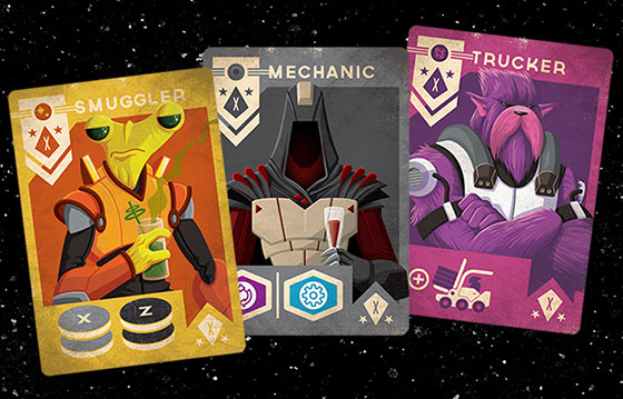 Far Space Foundry cards