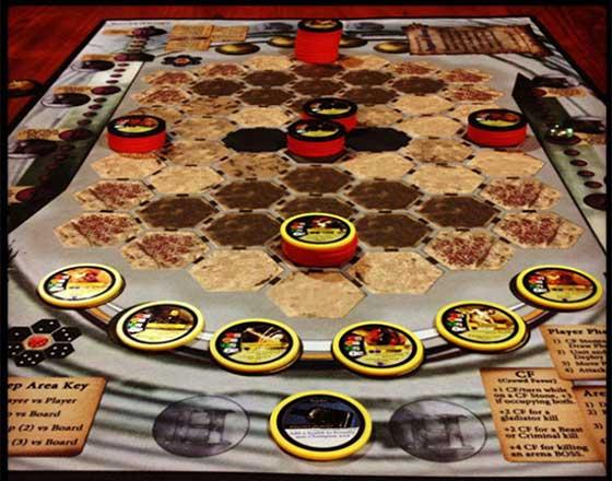Hoplomachus lost cities gameplay