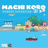 Machi Koro: Harbor Expansion - Board Game Box Shot
