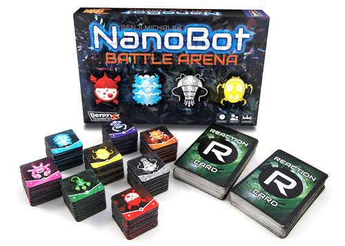 NanoBot Battle Arena components