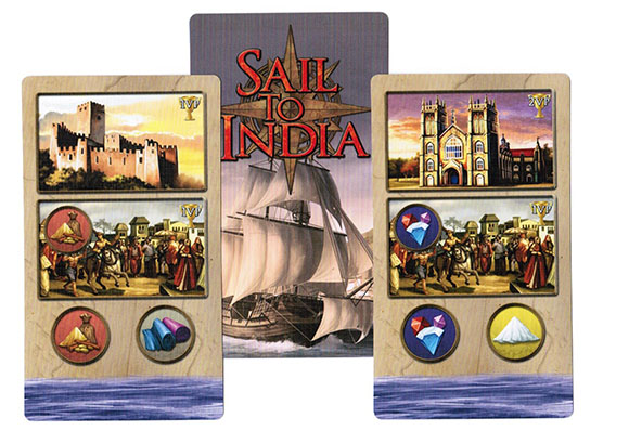Sail to India Coastal Town Cards
