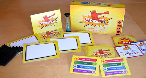 Stipulations game components