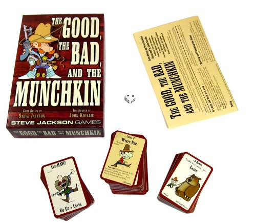 The Good, the Bad, and the Munchkin components