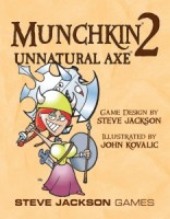 Munchkin 2: Unnatural Axe - Board Game Box Shot