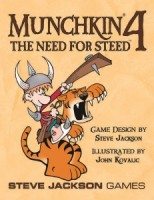 Munchkin 4: The Need for Steed - Board Game Box Shot