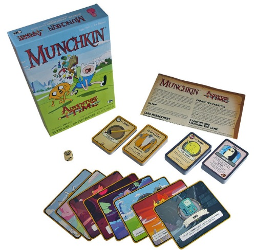 Munchkin Adventure Time components