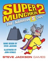 Super Munchkin 2: The Narrow S Cape - Board Game Box Shot