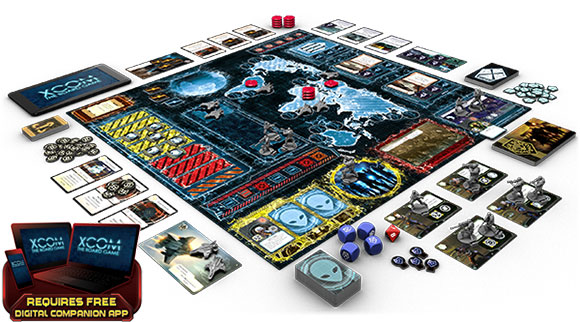 xcom board gameplay