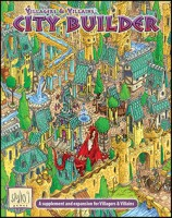 Villagers & Villains: City Builder - Board Game Box Shot