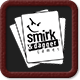 Smirk and Dagger fan badge