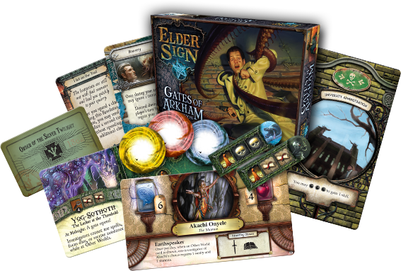Elder Sign Gates of Arkham Publisher Image 1