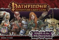 Pathfinder ACG: Wrath of the Righteous – Character Add-On Deck - Board Game Box Shot