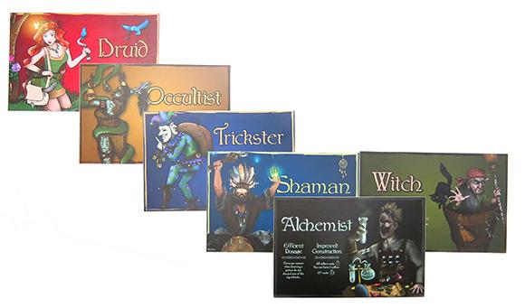 Cauldron Characters