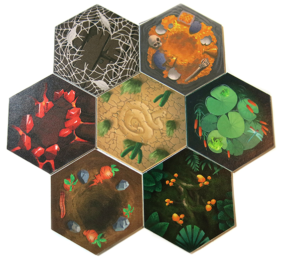 Cauldron Field Tiles