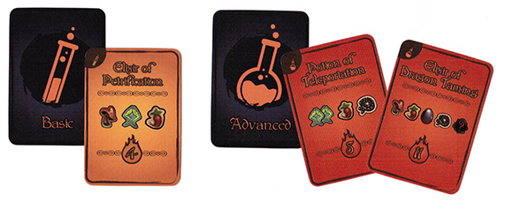 Cauldron Potion Cards