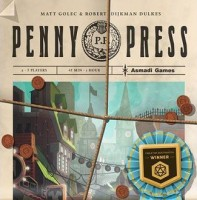 Penny Press - Board Game Box Shot