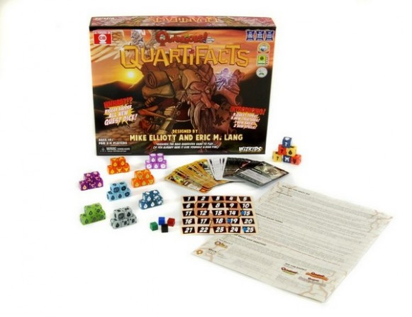 Quarriors Quartifacts Publisher Image