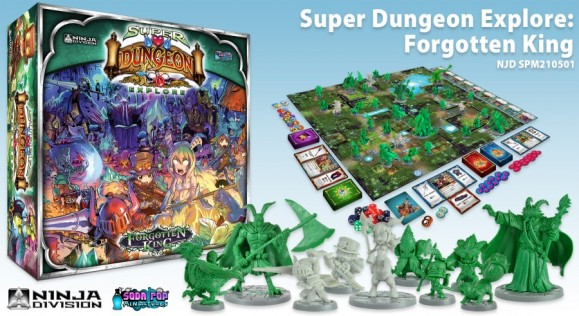 SDE Forgotten King Contents