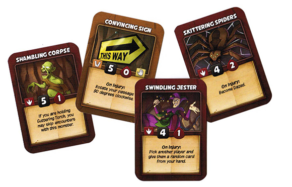 Skulldug! Hazard Cards