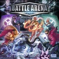 Battle Arena Show - Board Game Box Shot