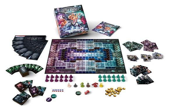 Battle Arena Show components