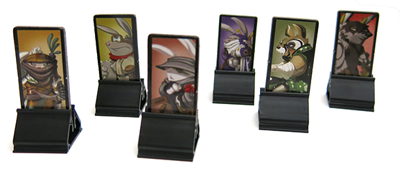 Cross Hares Standees