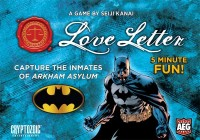 Love Letter: Batman - Board Game Box Shot