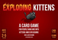 Exploding Kittens - Board Game Box Shot
