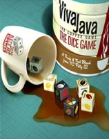 VivaJava: The Coffee Game: The Dice Game - Board Game Box Shot