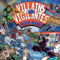 Villains and Vigilantes Card Game (2nd Edition) - Board Game Box Shot