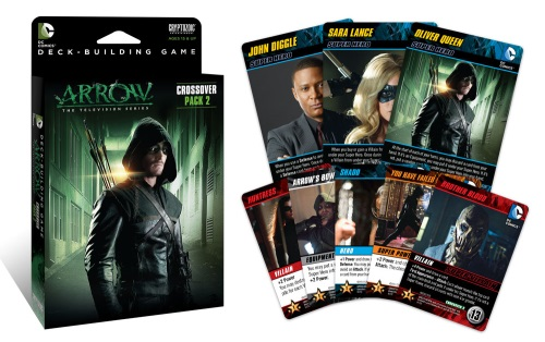DC Comics Deck-Building Game: Crossover Pack #2: Arrow components