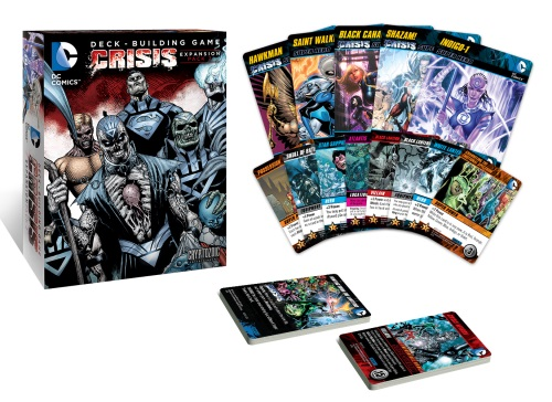 DC Comics Deck-Building Game: Crisis Expansion (Pack 2) components