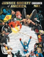 DC Comics Deck-Building Game: Crossover Pack #1: Justice Society of America - Board Game Box Shot