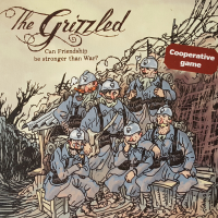 The Grizzled - Board Game Box Shot