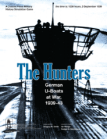 The Hunters: German U-Boats at War, 1939-43 - Board Game Box Shot