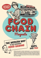 Food Chain Magnate - Board Game Box Shot