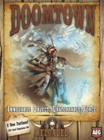 Doomtown: Reloaded – Immovable Object, Unstoppable Force - Board Game Box Shot