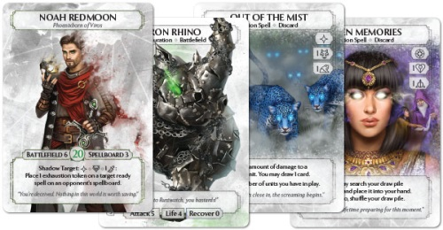 Ashes: Rise of the Phoenixborn cards