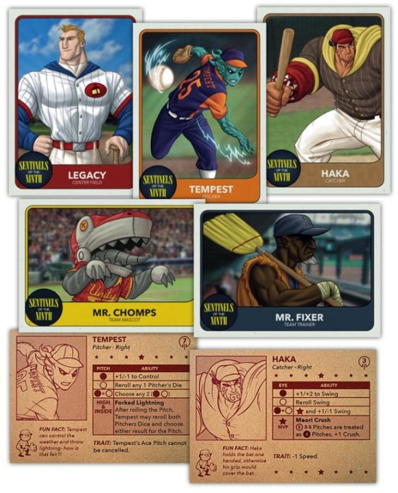 Bottom of the 9th: Sentinels of the Ninth cards