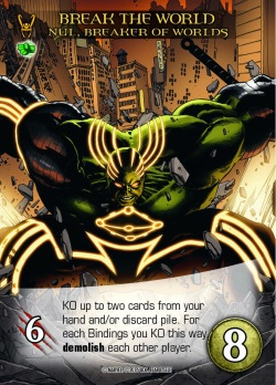 Legendary: Fear Itself card