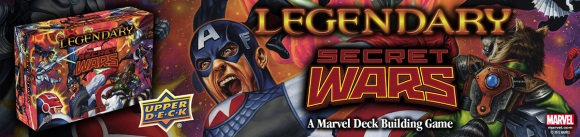 Legendary: Secret Wars Volume 1 banner