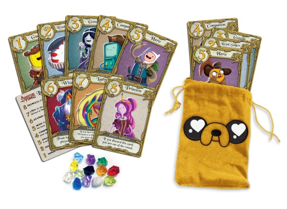 Love Letter: Adventure Time components