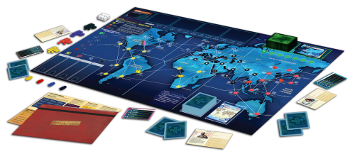 Pandemic Legacy: Season 1 layout