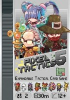 Pixel Tactics 5 - Board Game Box Shot