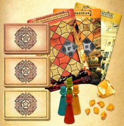 Trickerion: Legends of Illusion: Dahlgaard's Gifts contents