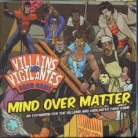 Villains and Vigilantes Card Game: Mind Over Matter - Board Game Box Shot