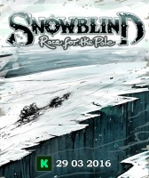 Snowblind: Race for the Pole - Board Game Box Shot