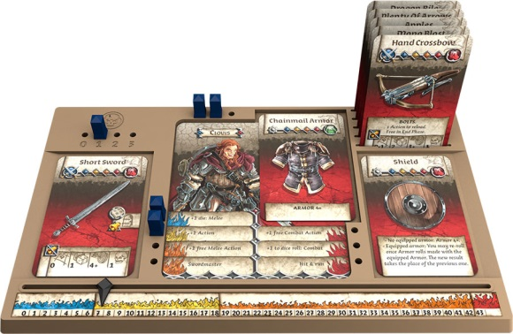 Zombicide: Black Plague dashboard